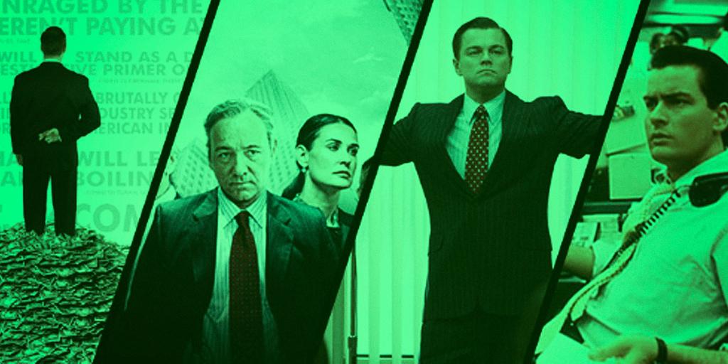Lista de filmes sobre mercado financeiro